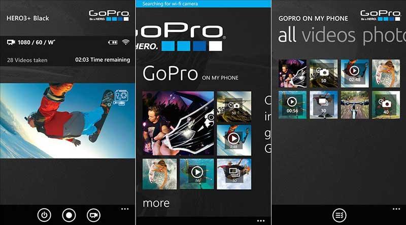 App de GoPro