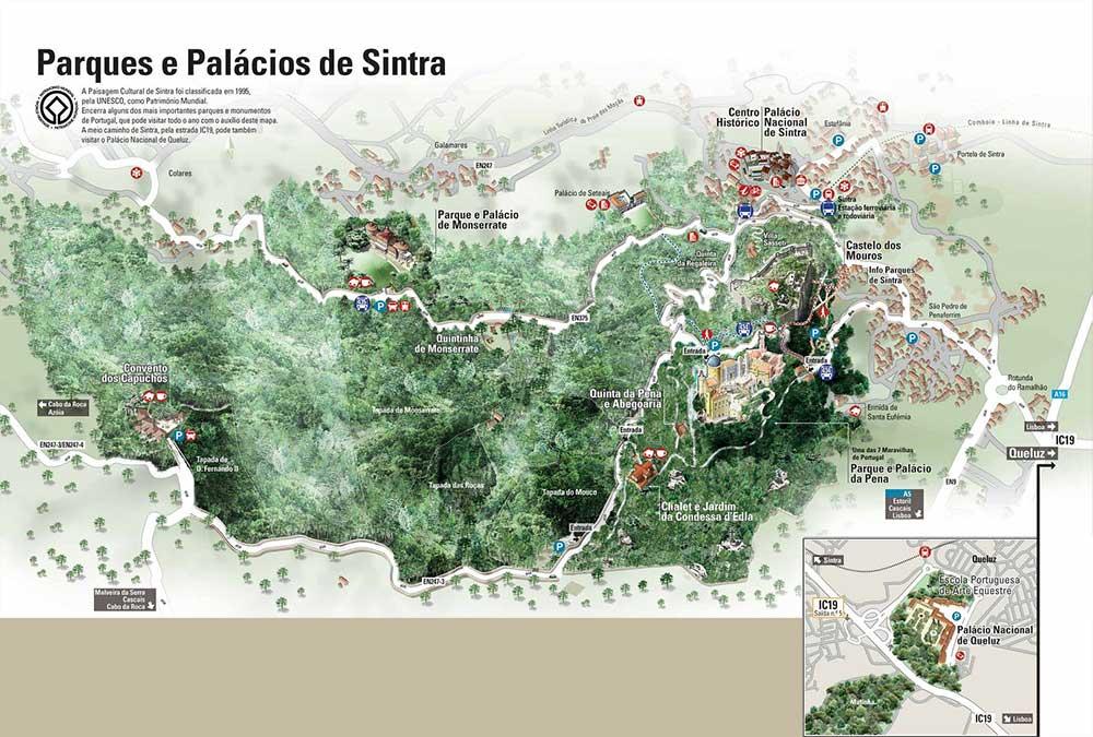 Mapa de Sintra