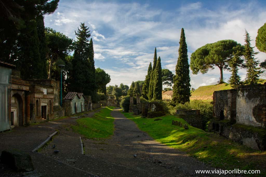 Necropolis de Pompeya