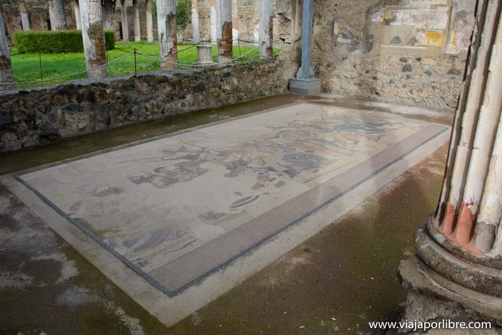 Mosaico de Alejandro - Pompeya