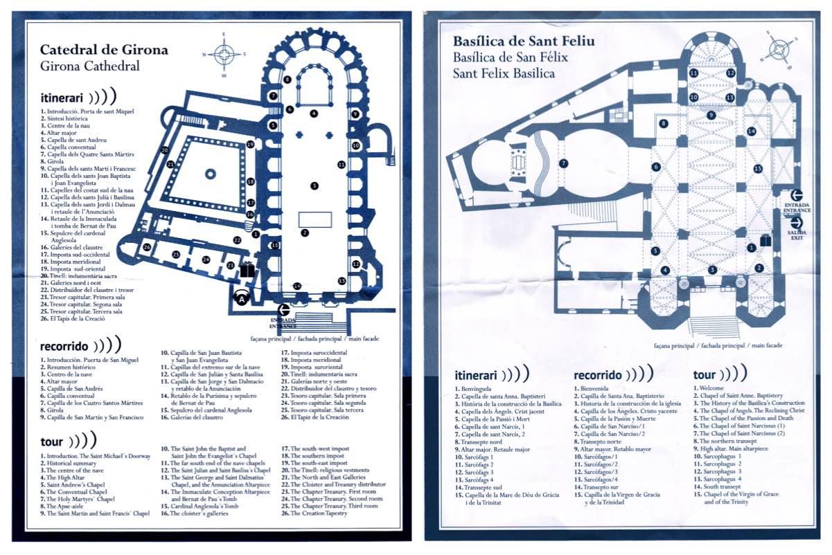 Plano de la Catedral y la Basílica