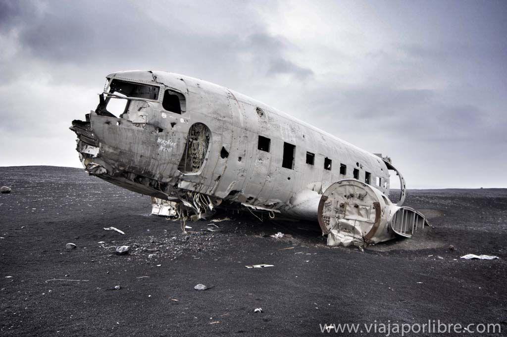 DC-3 en Islandia