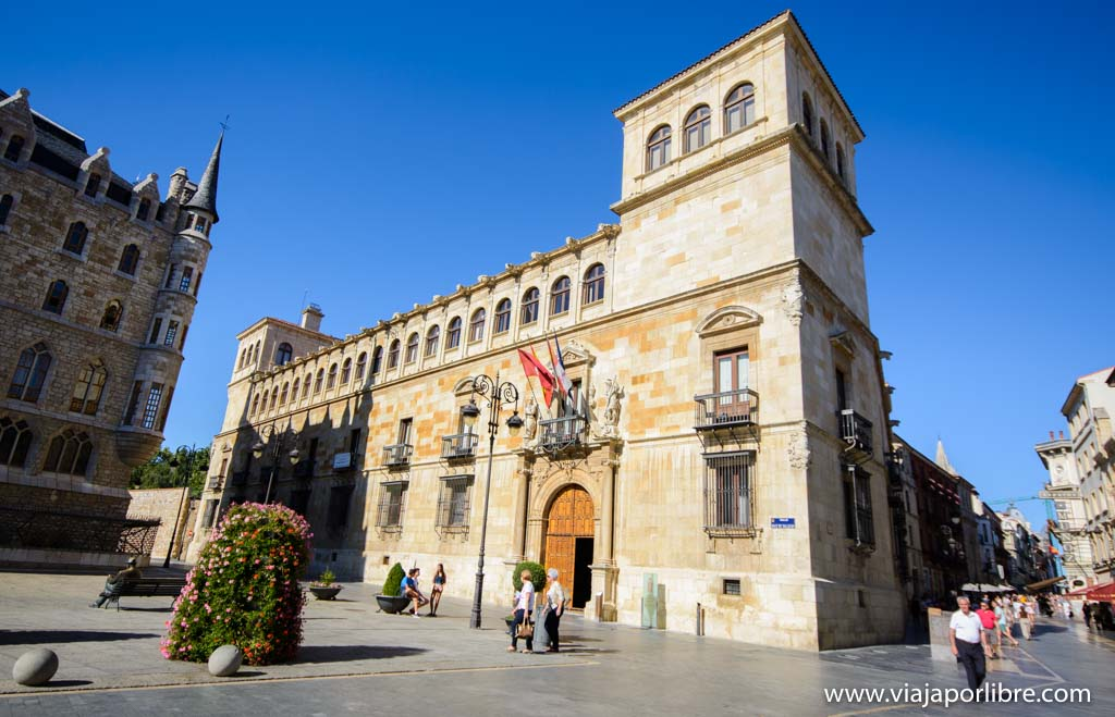 Palacio de los Guzmanes. Que ver en León ciudad