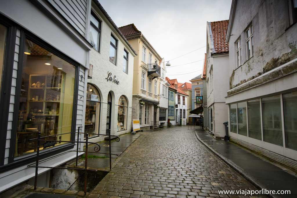 Skostredet. Que ver en Bergen