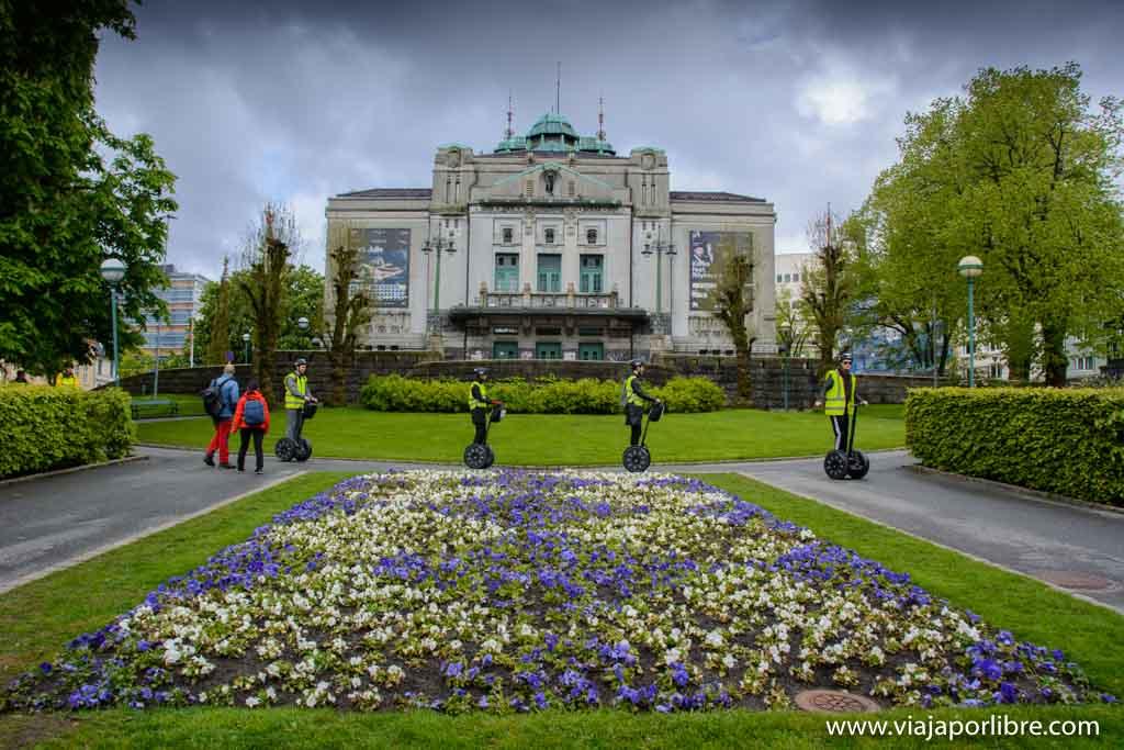 Teatro Nacional. Qué ver en Bergen