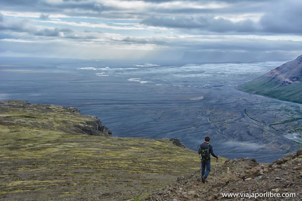 Ruta por el parque nacional de Skaftafell