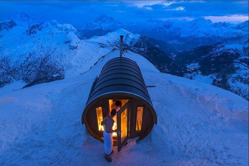 Finalista. Sauna en el cielo - Autor : Stefano Zardini