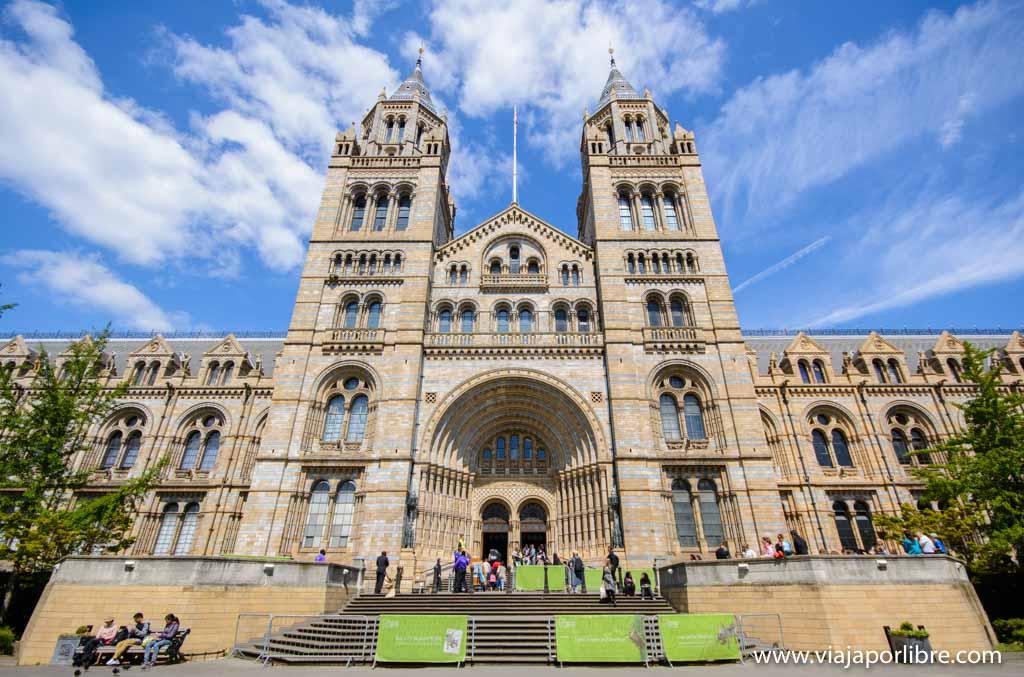 Los mejores museos de Londres - Museo de Historia Natural