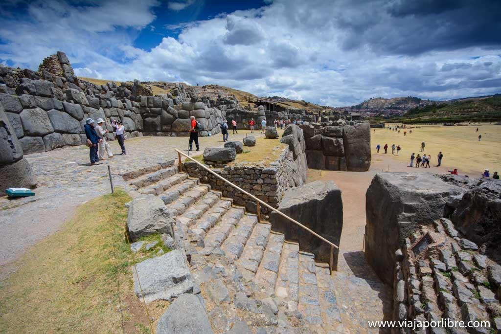 Sacsayhuamán - el mirador de Cuzco