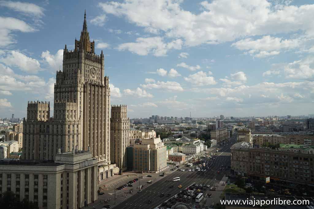 Moscú - Ministerio de Asuntos Exteriores