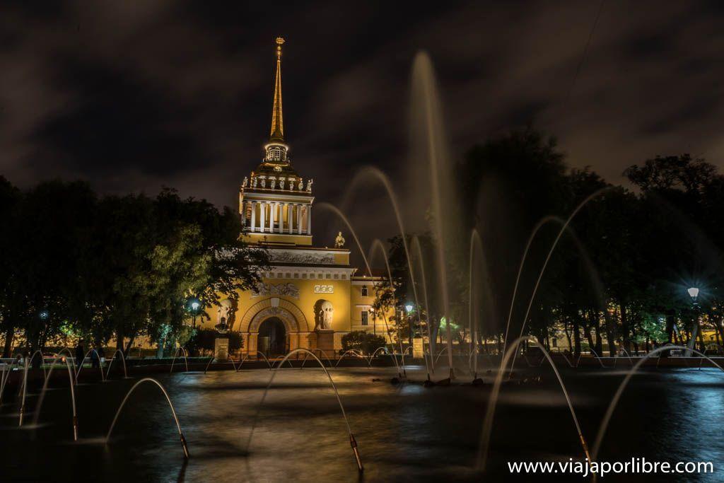 San Petersburgo - El Almirantazgo