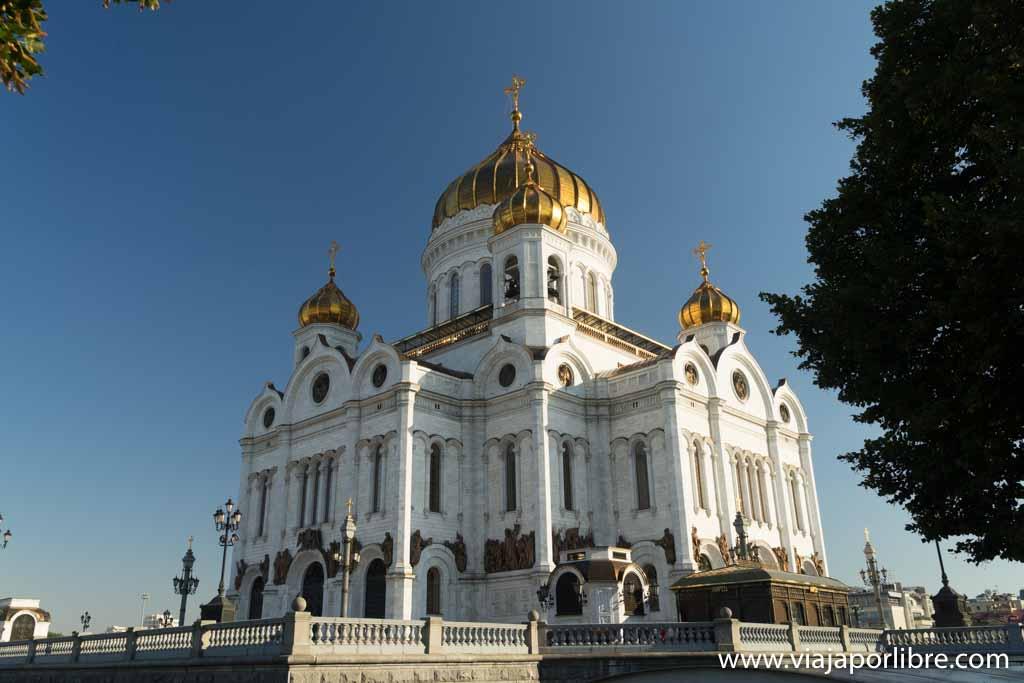 Moscú - Templo de Cristo Salvador