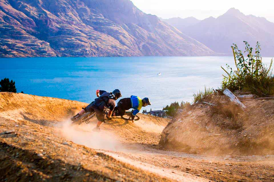 Mountain Bike en Queenstown