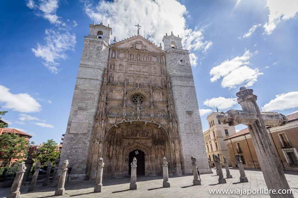 Valladolid - Iglesia de San Pablo