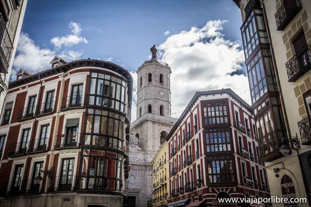Valladolid - Calle Cebadería