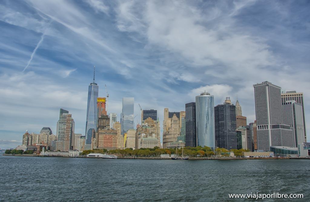 Ferry a la isla de Staten - Los mejores miradores de Nueva York