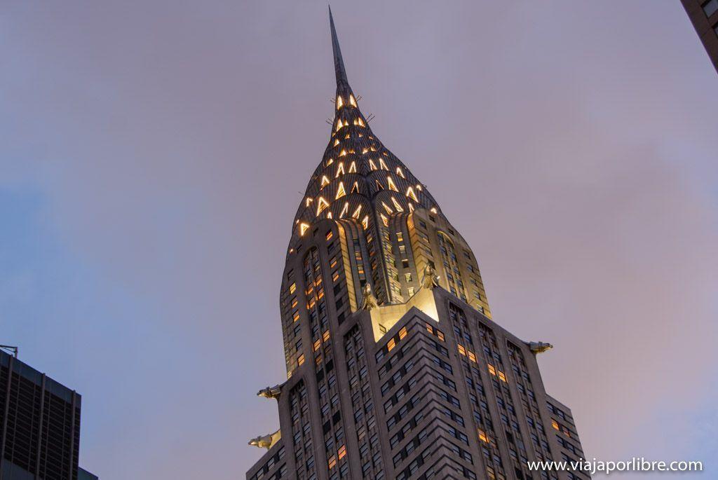 Chrysler Building - Las mejores vistas de Nueva York