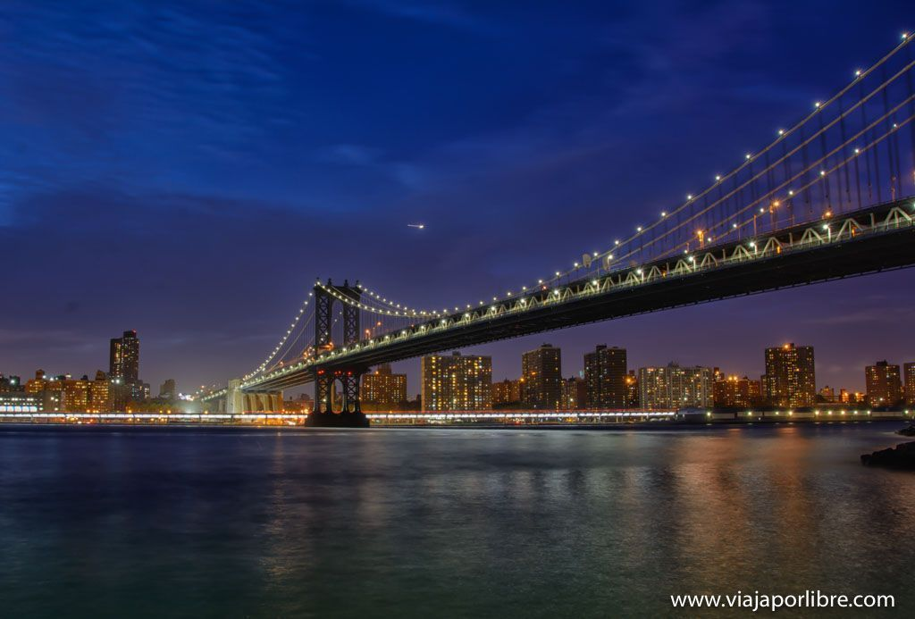 Puente de Manhattan - Los mejores miradores de Nueva York