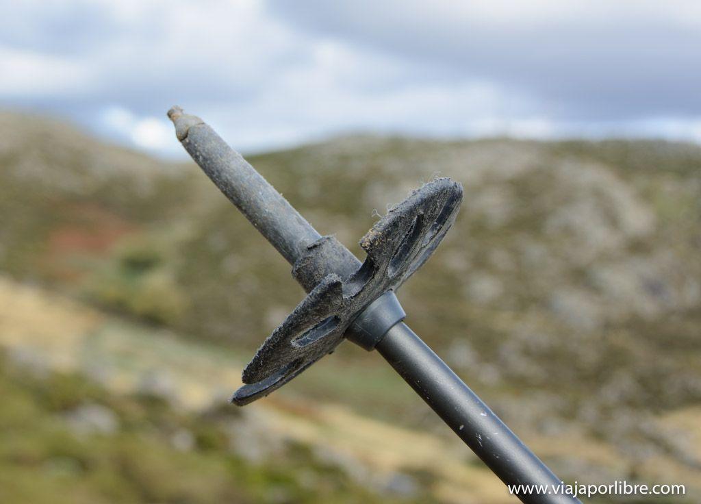 Punta y regatón - Bastones de Trekking