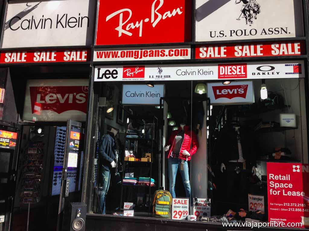 OMG - De compras por Nueva York