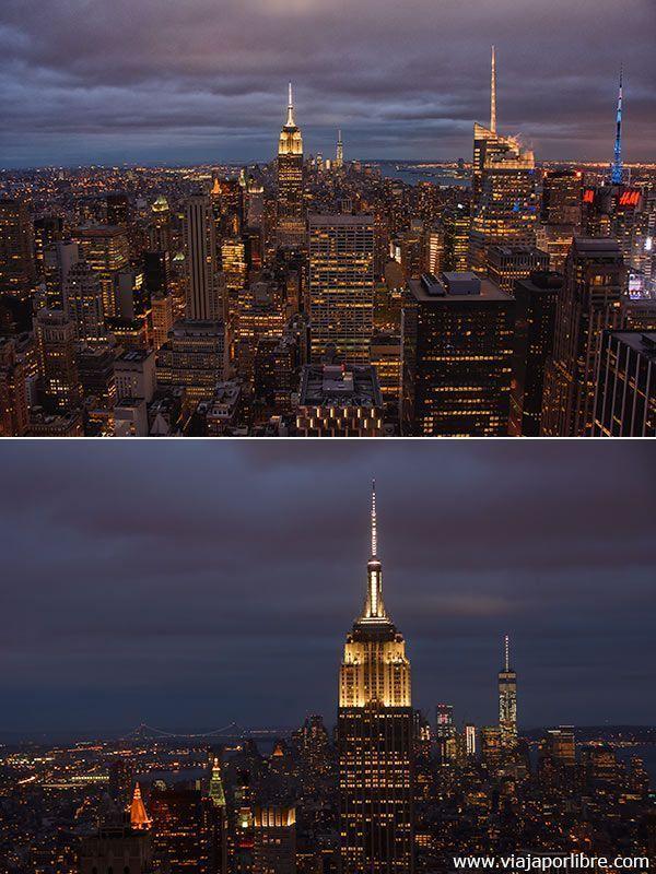 Top of the Rock - Las mejores vistas de Nueva York