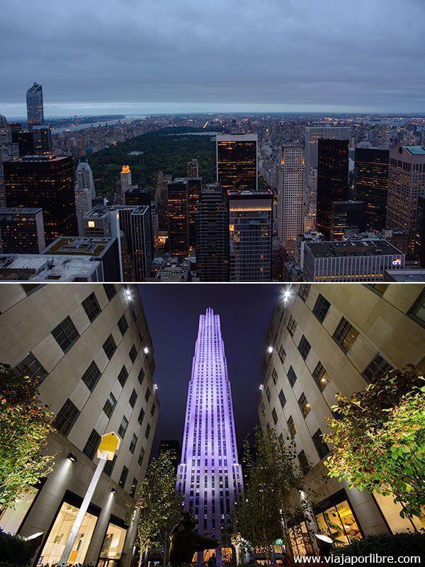 Top of the Rock - Los mejores miradores de Nueva York
