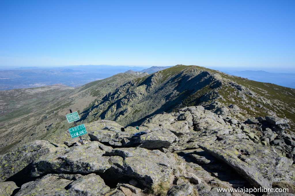 Ascensión al Cabezo desde Serranillos, Gredos