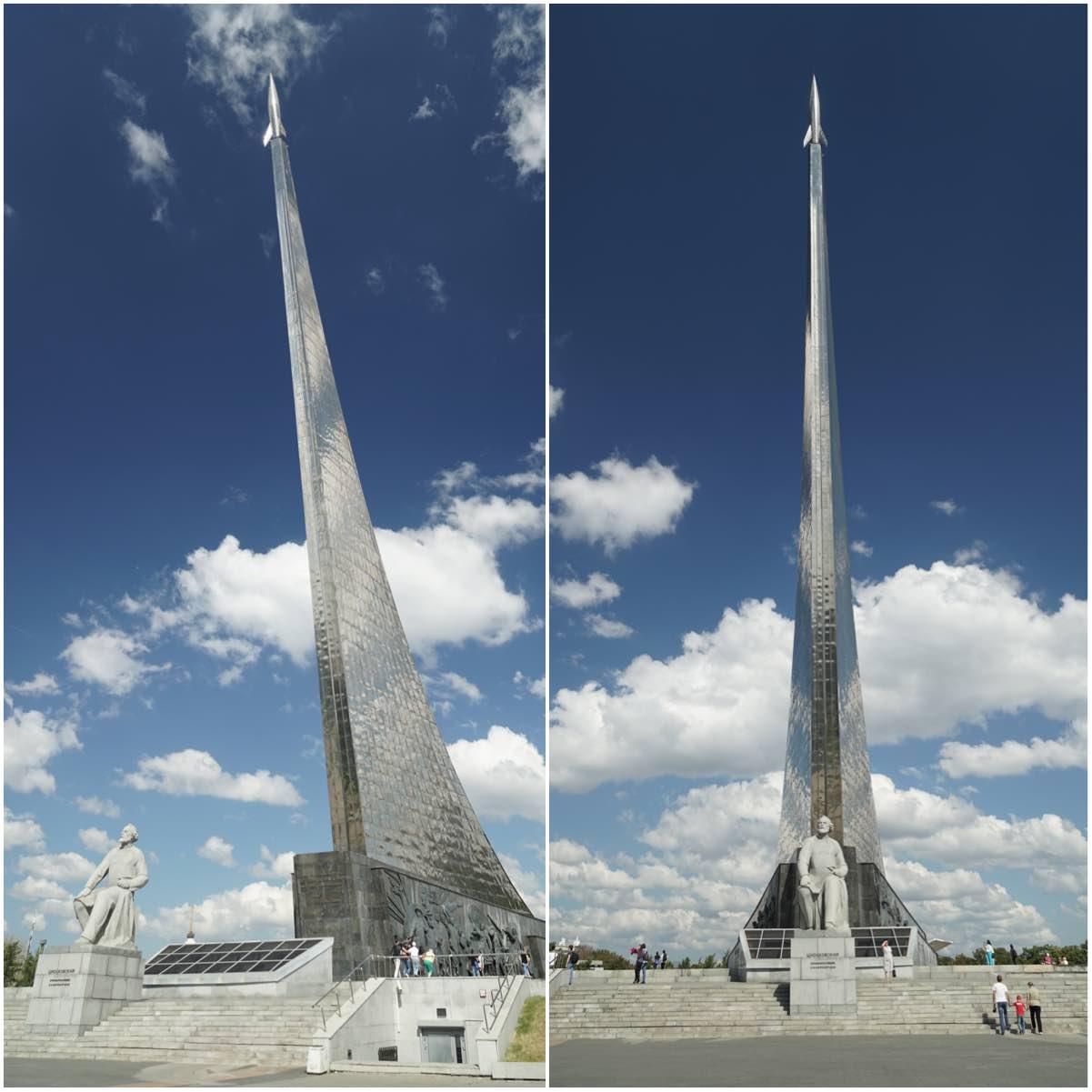 El museo de la Cosmonáutica de Moscú