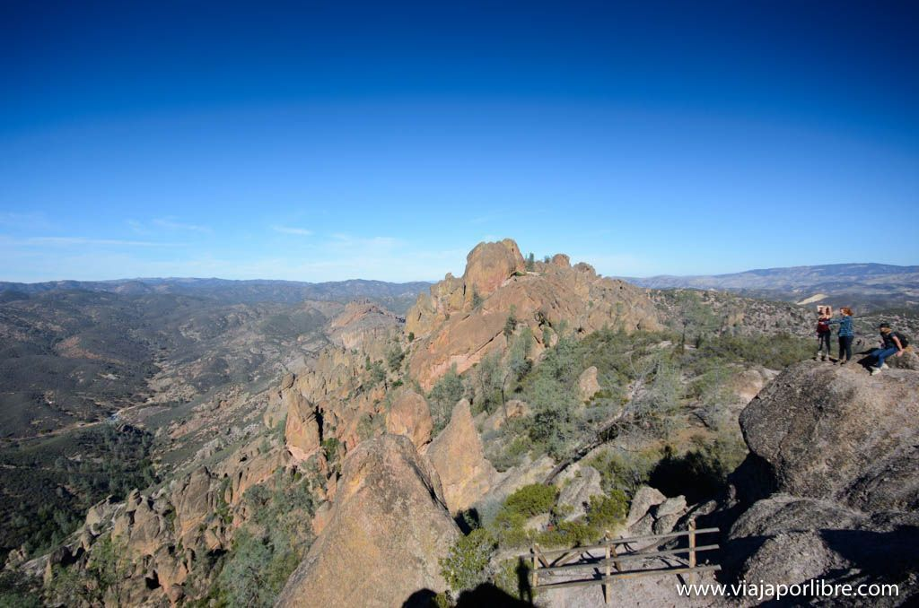 Senderismo por Pinnacles National Park