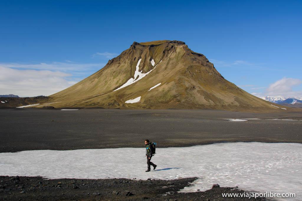 Rutas de senderismo en Islandia