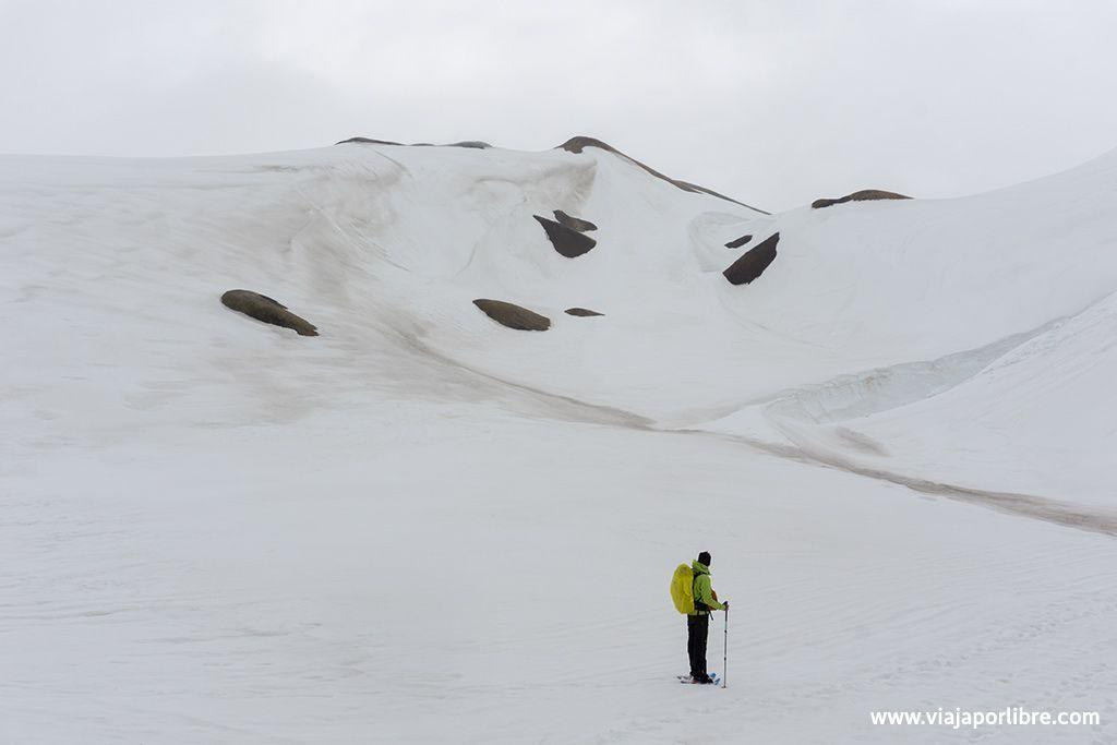 Laugavegurinn etapa 1, Landmannalaugar - Hrafntinnusker