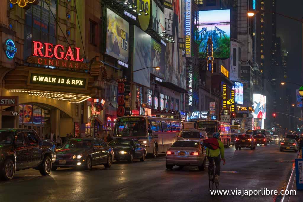 Nueva York y sus teatros