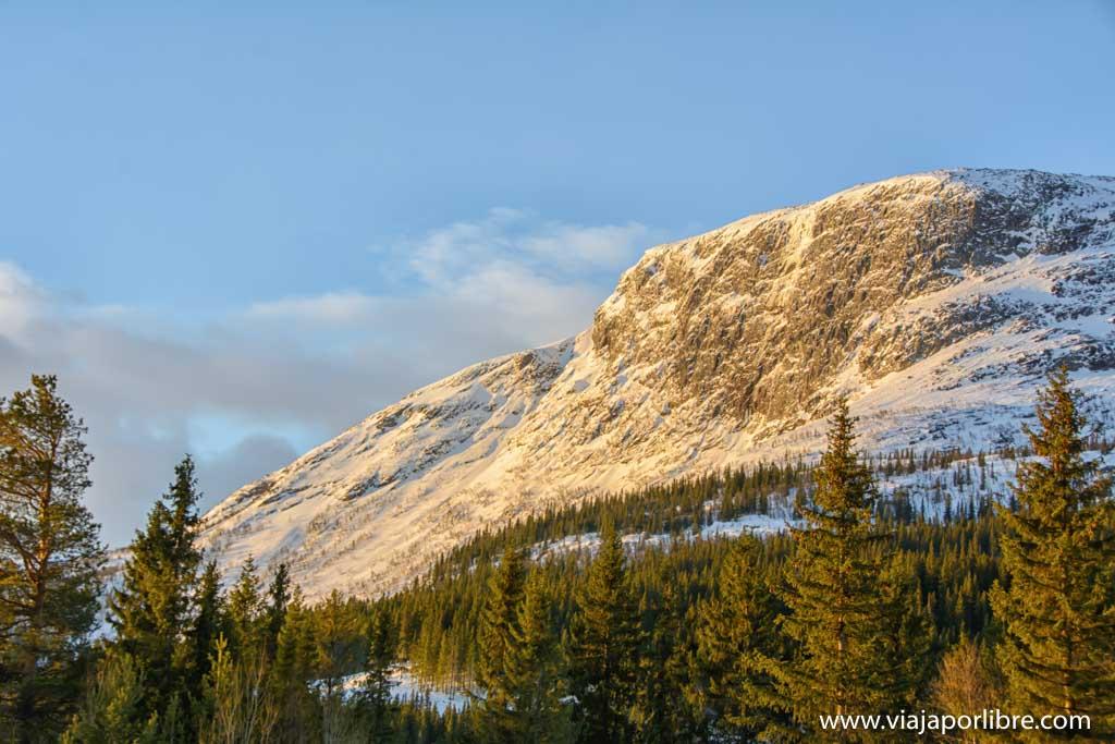 Raquetas de nieve en Noruega