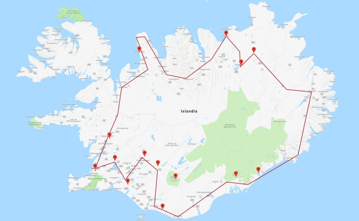 Islandia en 15 días
