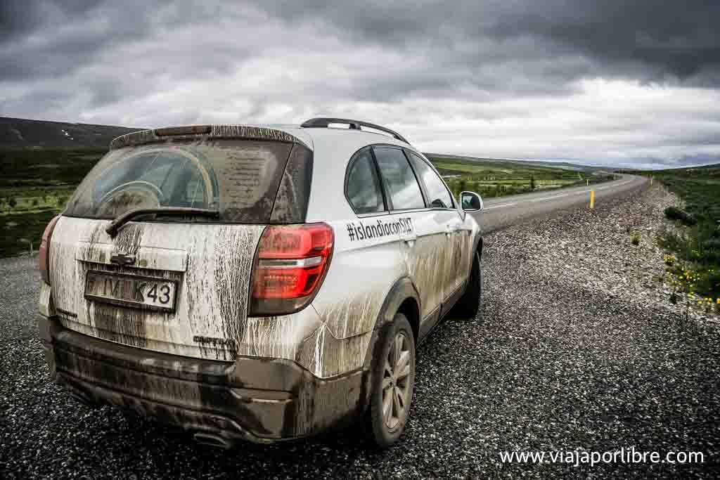 Islandia en coche