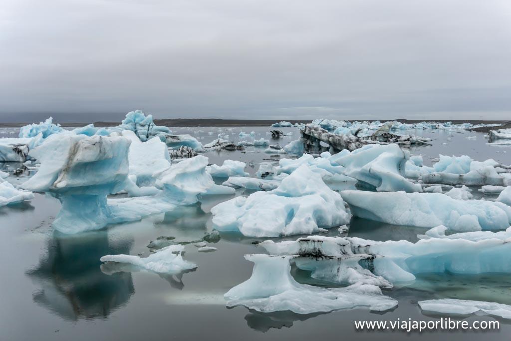 Jökulsárlón, el mayor lago glaciar de Islandia