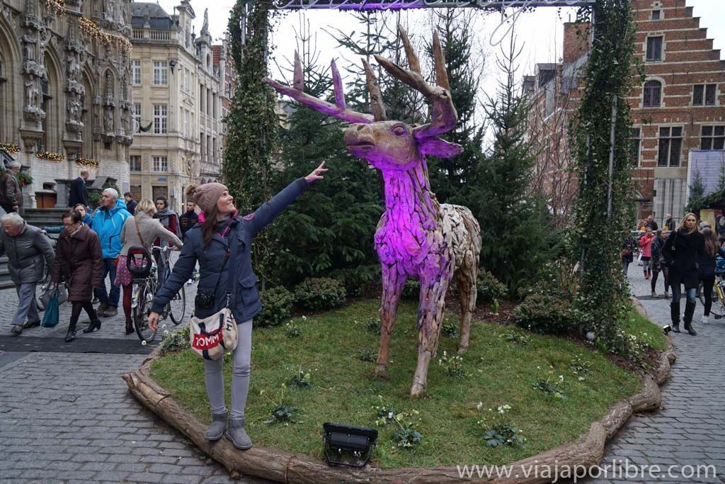 Mercadillo de Navidad junto al Ayuntamiento