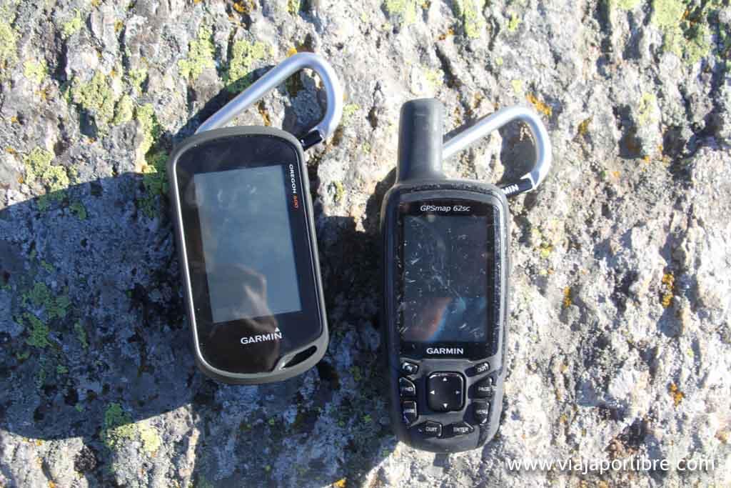 Garmin Oregon 600 y GPSmap 62sc
