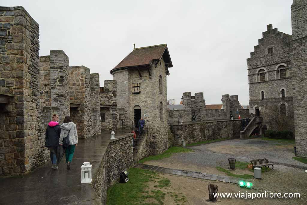Gravensteen - Castillo de los Condes de Flandes