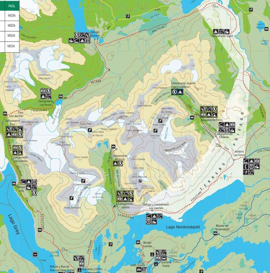 Preparativos para visitar las Torres del Paine
