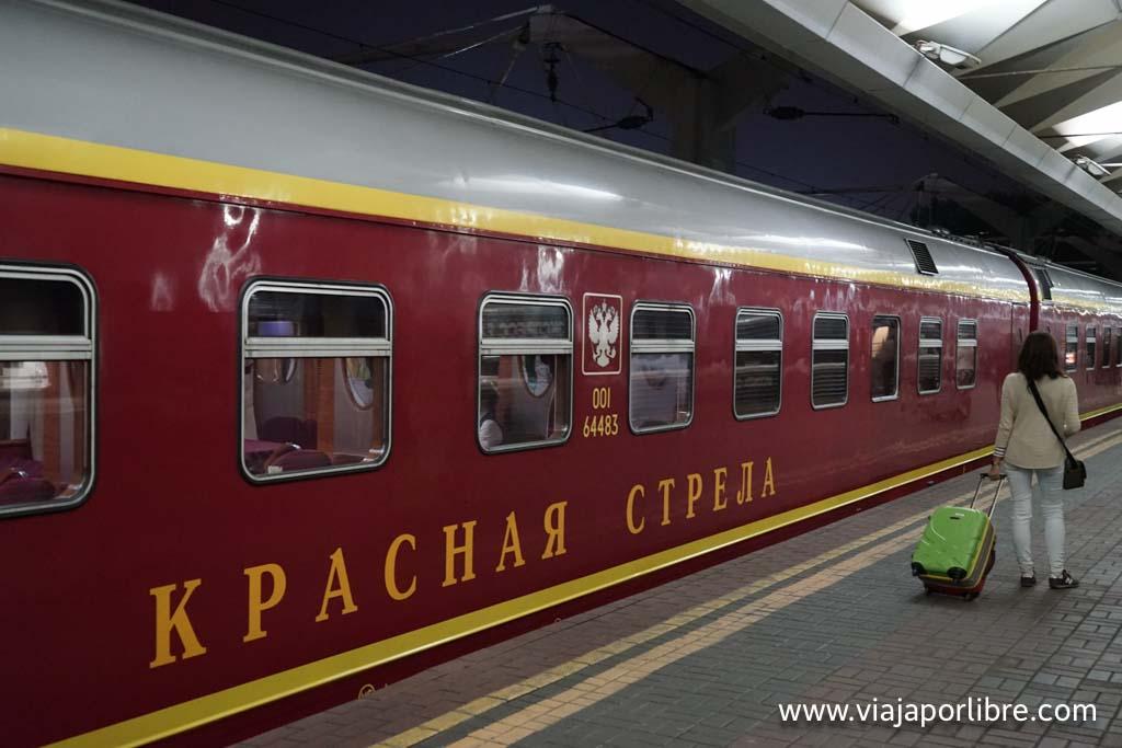 Viajar de Moscú a San Petersburgo