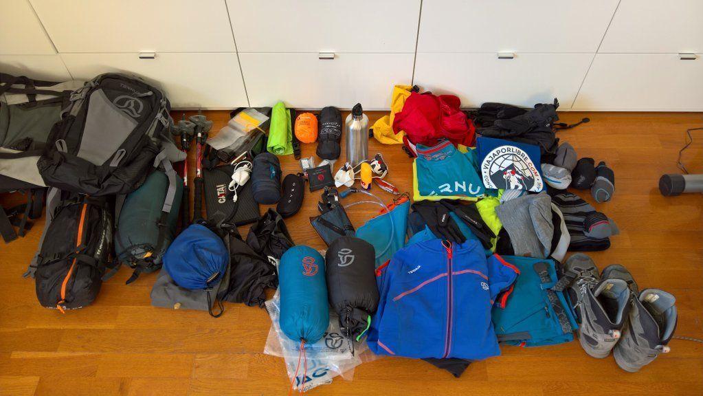 Preparativos para ir a las Torres del Paine