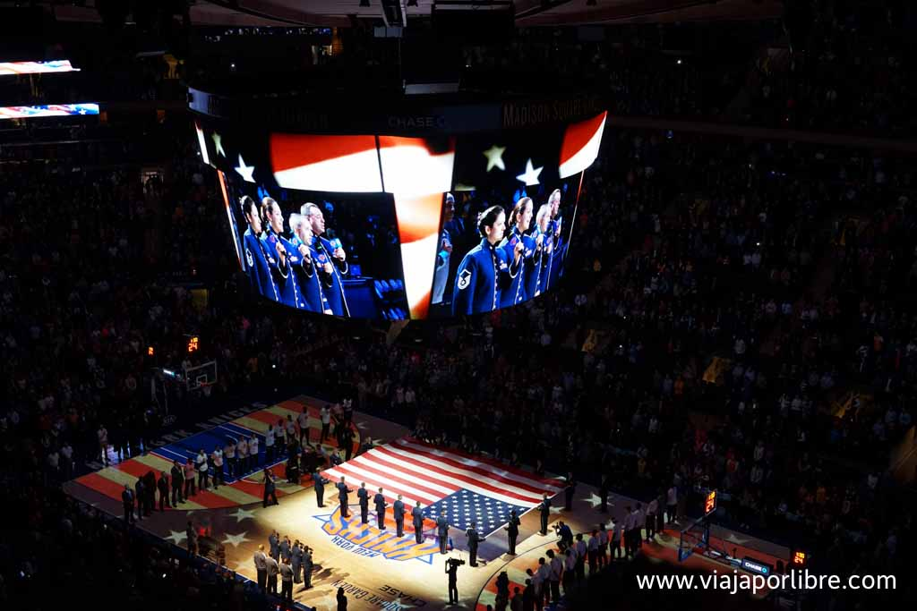 New York Knicks en el Madison Square Garden
