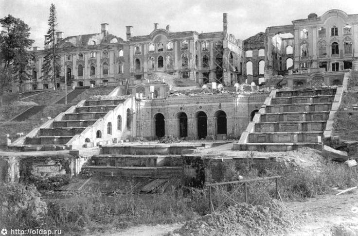 Peterhof después de la Segunda Guerra Mundial