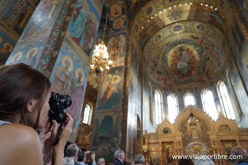 San Petersburgo - Iglesia del Salvador sobre la Sangre Derramada