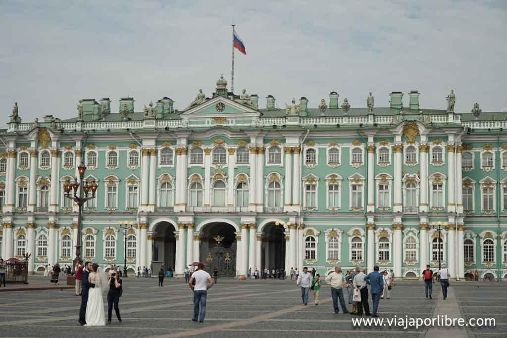 San Petersburgo - Palacio de Invierno / Hermitage