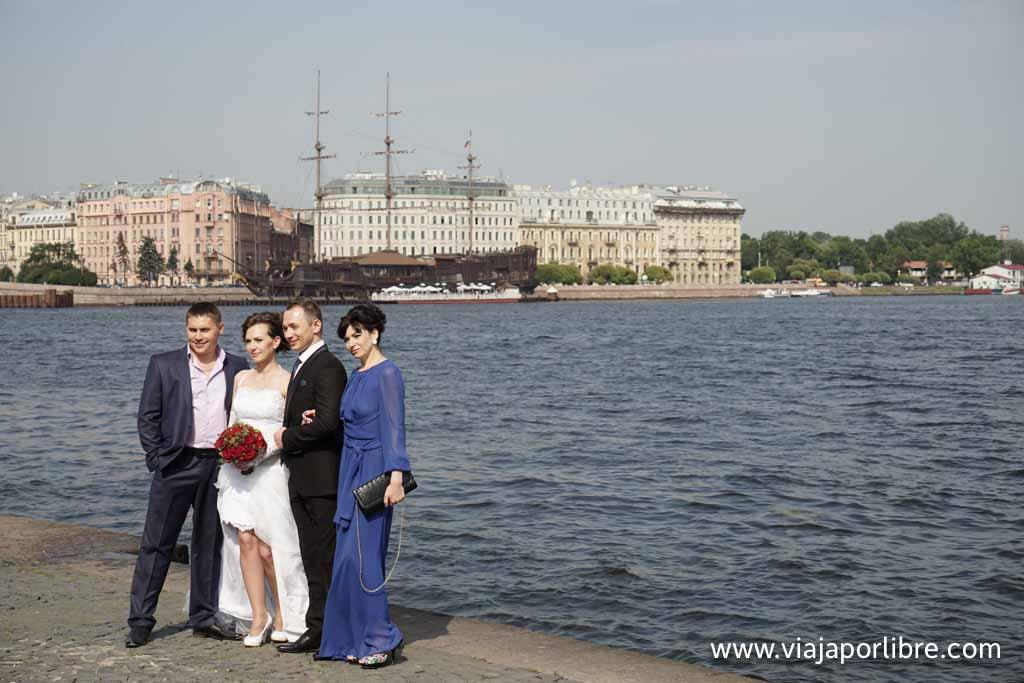 San Petersburgo - Una boda en el río Neva