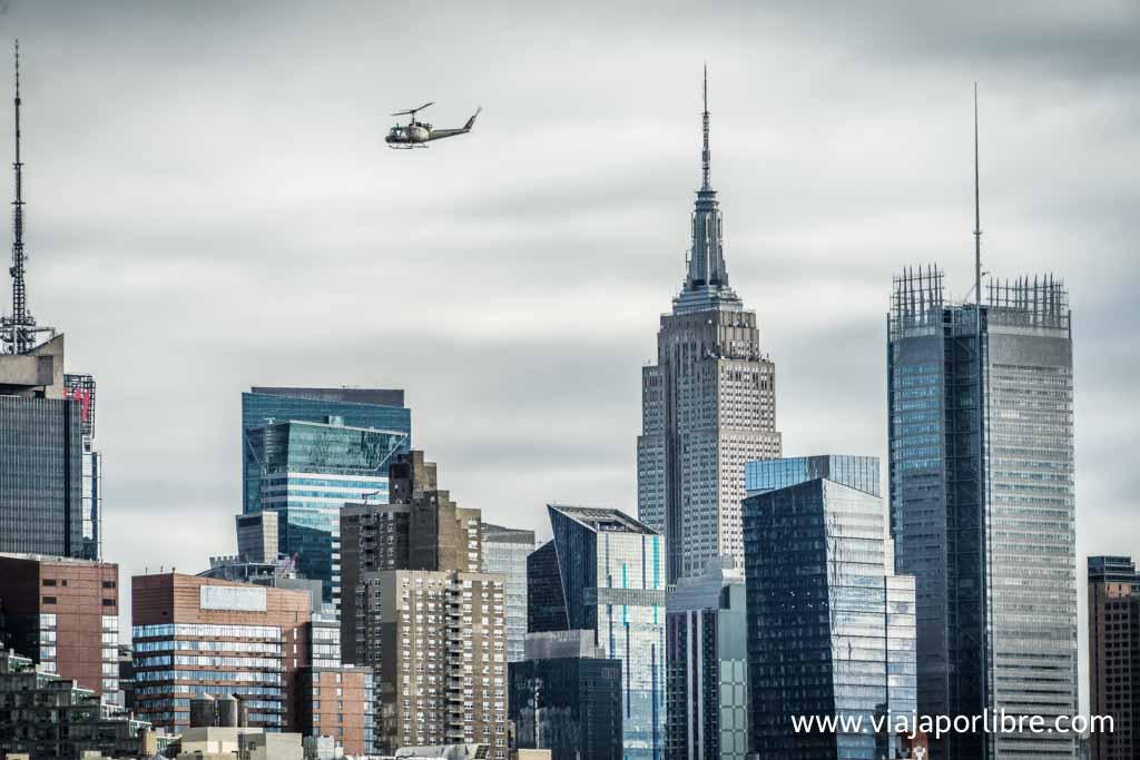 Nueva York en helicóptero