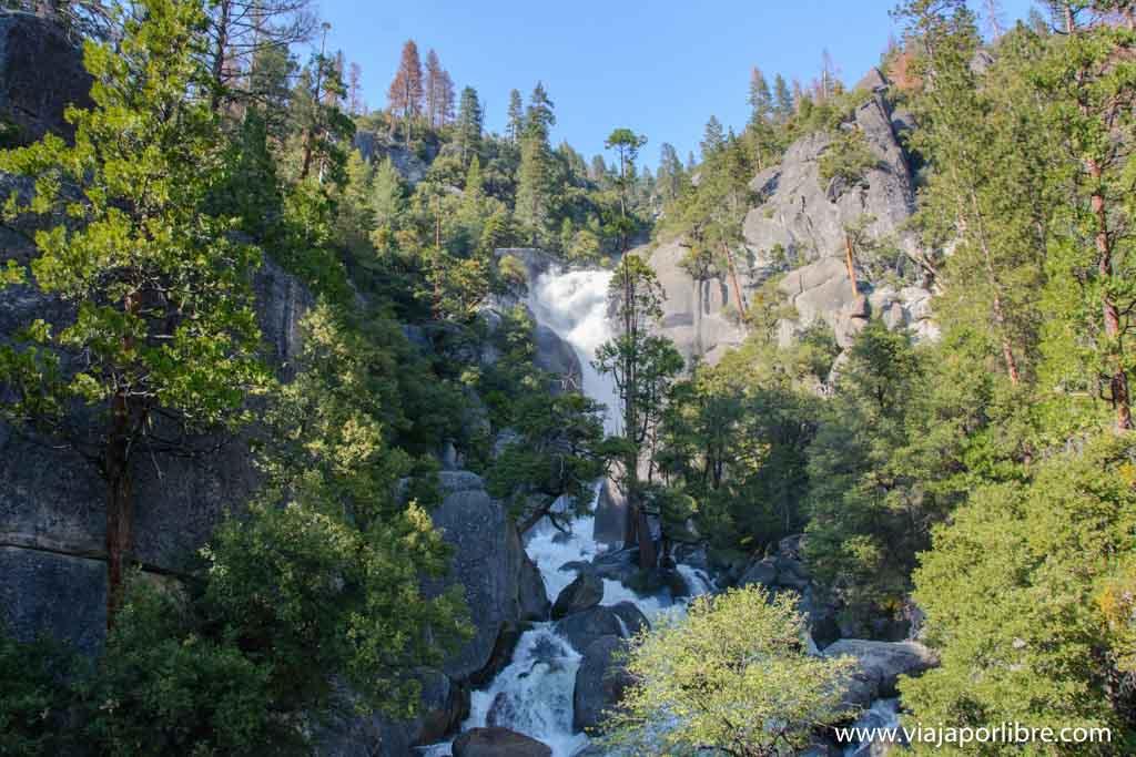 Que ver en el Yosemite National Park - Cascade Creek
