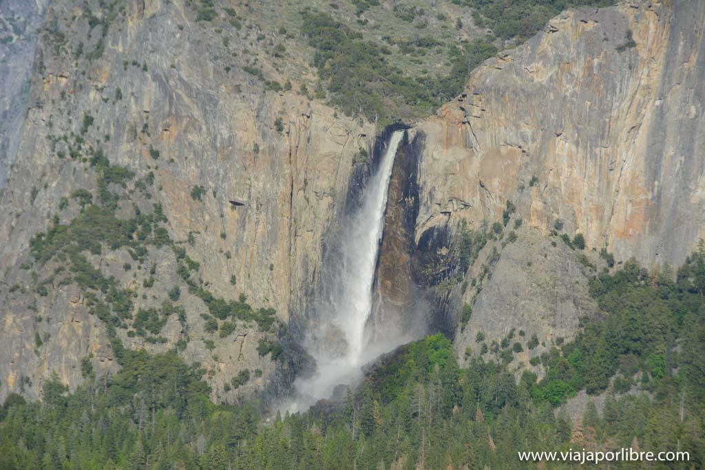 Que ver en el Yosemite National Park - Bridalveil Fall
